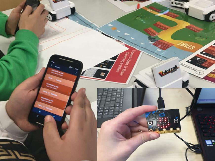 Leitprogramme mit BBC micro:bit und Pocket Code